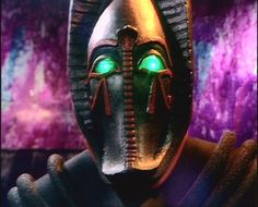 """Sutekh - The Fourth Doctor serial """"Pyramids of Mars"""" played with ancient astronaut theories by depicting the ancient Egyptian gods as aliens from the planet Osiris who had visited Earth and imprisoned one of their own, the genocidal Sutekh, in a pyramid (ugh, bad flashbacks to Transformers: Revenge of the Fallen). After Sutekh was freed by an archaeologist, he created an army of robot mummies and took control of the Doctor's will. He forced the Time Lord to take an army of minions to..."""