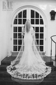 Stunning & Intricate Classic Gown - Modest Wedding Gown