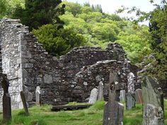 Cimetière, Irlandais, Croix, Pierre