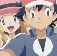 Ash and Serena :3 ♥ Satosere ♥