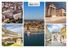 Pulas sonnige Grüsse | Urlaubsgrüße | Echte Postkarten online versenden…