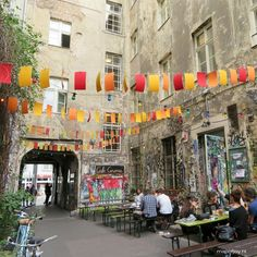 Haus Schwarzenberg hotspot Berlin - Map of Joy Berlin Street, Berlin City, Travel Report, Travel Specials, Berlin Germany, Outdoor Travel, Joy, Cities, Holiday Wishes