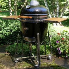 A Great Looking Grill Smoker Loaded with Standard & Special Options
