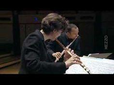 ▶ Duo pour 2 flûtes W.F. Bach - YouTube