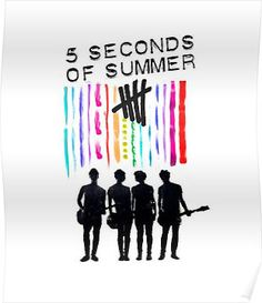 Five seconds of summer. Four guys. One band.