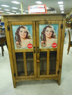 Brand New Coca Cola Cabinet $289 #vintage #earthexchange #cocacola