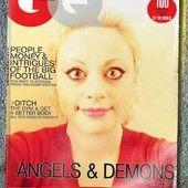Sara Angel and Demon. The portrait shows Sara Adeline Mazzolini in France. 2015. Sara's Selfie.