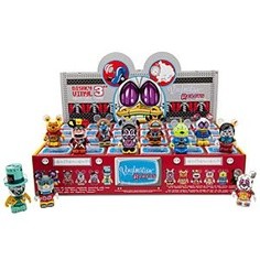 Disney Vinylmation Robots Series 3 Series Tray | Disney StoreVinylmation Robots Series 3 Series Tray - Electrify your Vinylmation collection with our mechanical menagerie. Now you can get a sealed tray of 24 individual boxes with the entire 3'' Vinylmation Robots Series 3 assortment.