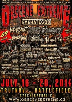 Berns von Bernington went to the European edition of the Obscene Extreme Festival in the Czech Republic. Read the third part of his festival review.