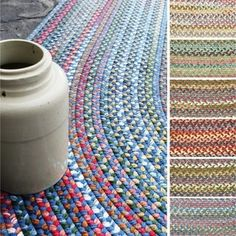 Rhody Rug Charisma Indoor and Outdoor Oval Braided Rug by Rhody Rug (4'x6') - Love braided rugs