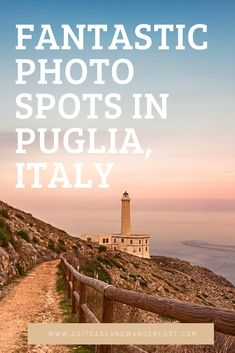 Discover amazing photo spots in Puglia for fantastic landscape photographs. Travel Destinations Beach, Italy Travel Tips, Europe Travel Guide, New Travel, Travel Guides, European City Breaks, Puglia Italy, The Beautiful Country, Travel Photography