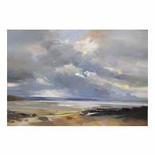 David Atkins, Autumn Light, Saunton Sands