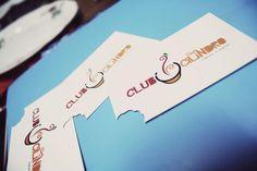 Tarjetas Personales para @clubcilindro  l diseño:Aparatodemargarita