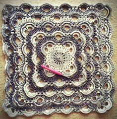 Free PDF Crochet Virus Blanket Pattern + Video Tutorial