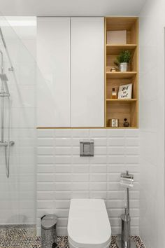 44 Best Ideas of Bathroom 2019 with Scandinavian Style is part of Bathroom cabinets over toilet Child bedroom Child bedroom was made in a light and exciting language with a little arch Scandinavian - Bathroom Cabinets Over Toilet, Bathroom Wall, Modern Bathroom, Bathroom Ideas, Bathroom Makeovers, Bathroom Sinks, Bathroom Vintage, Bathroom Toilets, Simple Bathroom