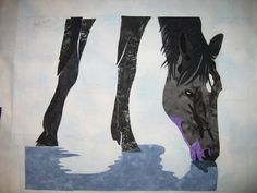 "Quilting and ""Other Stuff"": Current quilt - Horse picture..."