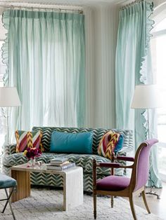 Color Decorating Ideas - Miles Redd Colorful Interiors - House Beautiful