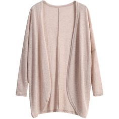 Khaki Long Sleeve Loose Knit Cardigan ($11) ❤ liked on Polyvore featuring tops, cardigans, jackets, outerwear, sweaters, khaki, pink knit cardigan, khaki cardigan, long sleeve tops and pink top