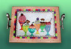 RNt-CA108 Ice Cream Tray