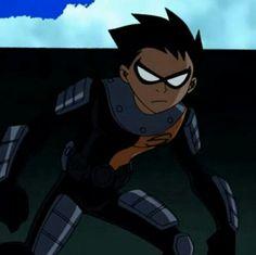 Batman Beyond vs Robin(Teen Titans) - Battles - Comic Vine Slade Teen Titans, Teen Titans Robin, Teen Titans Fanart, Teen Titans Go, Dc Comics, Original Teen Titans, Spiderman, Robin Dc, Beast Boy