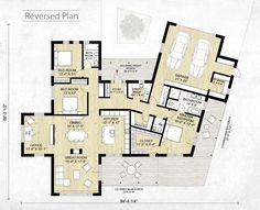 Modern Style House Plan - 3 Beds 2.5 Baths 2116 Sq/Ft Plan #924-4 Floor Plan - Other Floor Plan - Houseplans.com