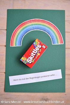 Wenn du mal den Regenbogen probieren willst ...    Wenn Buch | Bastelanleitung | Wenn Buch Ideen | Wenn Buch basteln