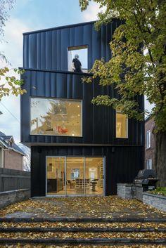 Glebe Residence / Batay-Csorba Architects black house #architecture