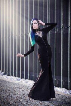 Model, make-up, edit: Daedra Dress: Punkrave Photographer: Unit Foto Welcome to Gothic and Amazing   www.gothicandamazing.com