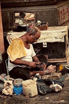 Photograph Shoemaker by Henny Boogert on 500px