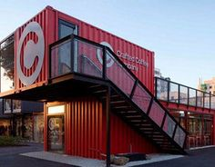 Shipping container architecture #office #company #firm