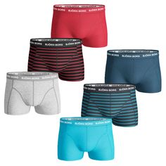 44% OFF RRP Bjorn Borg Mens BB Stripe 3-Pack Boxer Briefs Soft Cotton Underwear in Clothes, Shoes & Accessories, Men's Clothing, Underwear | eBay!
