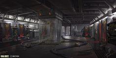 ArtStation - COD Infinite Warfare: Titan Interior and Aftermath, Gabriel Yeganyan