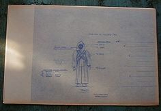 Jawa Action Figure Blueprint and Color Specification Sheet - Star Wars Collectors Archive