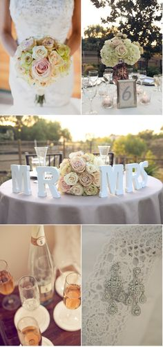 Elegant Ranch Wedding by Allie Lindsey Photography + Evelyn Francesca Events and Design | Style Me Pretty