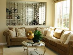 gold and silver metallic colors in interior design (2)
