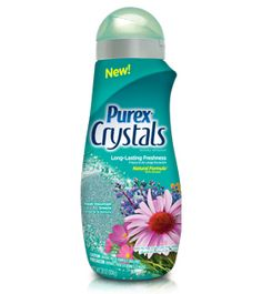 #PurexCrystals - Fresh Mountain Breeze: freshen your laundry with the newest Crystals fragrance!