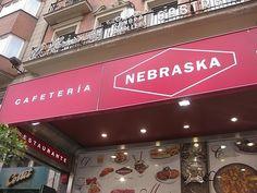Madrid, Spain. Restaurant Nebraska. It's named after my state.
