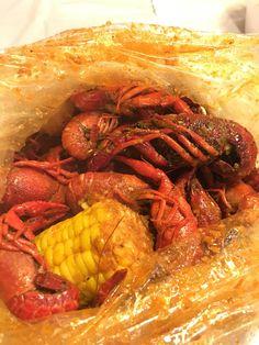 [I ATE] 2 pounds of crawfish.