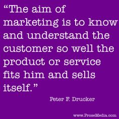 """Prose Quote""--by Peter Drucker, Austrian American management consultant. ProseMedia.com is a custom writing service for brands. We write content worth sharing. #Prose"
