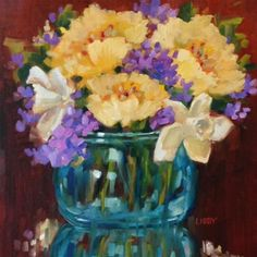 """Daily Paintworks - """"Fashion Forward"""" - Original Fine Art for Sale - © Libby Anderson"""