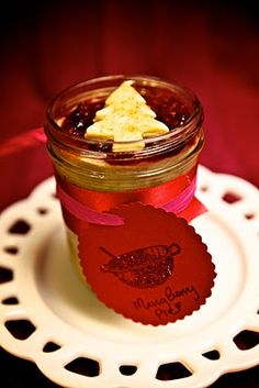 The Doyle Mixing Bowl: Gifts - Pies in a jar. I am making these again this Christmas but in smaller jars.