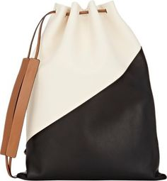 Marni Colorblocked Knapsack at Barneys Warehouse