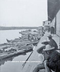 Embarcadero Rio Tamesí junto al mercado Hidalgo