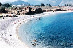 """Monemvasia - a beach in """"Xifias"""" (Sep 18, 2000)"""
