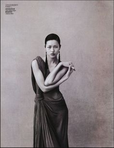 From Dresses of Time. Vogue China, April 2009.  Follow the latest Joanna styling tips on her Facebook Page.