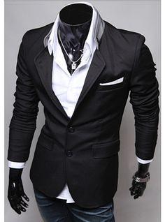 Men's fashion suits slim casual suit jacket for men civilian clothes brands designer classic retro clothing Mens Summer Blazers, Blazers For Men, Jackets For Men, Ladies Blazers, Casual Suit, Men Casual, Casual Styles, Casual Blazer, Blazer Outfits