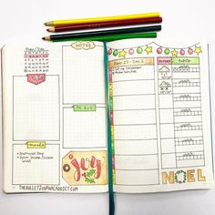 Christmas planning does not need to be stressful. Find beautiful bullet journal Christmas spreads to make Christmas planning a breeze. Bullet Journal Book, Bullet Journal Christmas, December Bullet Journal, Bullet Journal Junkies, Bullet Journal Spread, Bullet Journal Layout, My Journal, Journal Pages, Bullet Journals