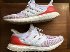 bc6cceb0a adidas Ultra Boost 2.0 MultiColor Red White Multi Size 12 Men s BB3911   shoes  kicks