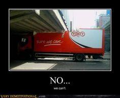 demotivational posters - NO...