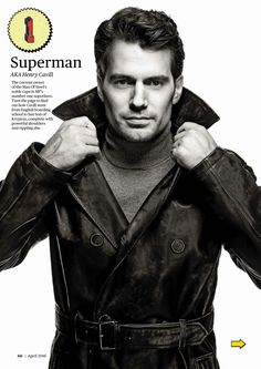 Men's Fitness UK - April 2016 - 003 - MrCavill.com Photo Gallery - Your first source for everything Henry Cavill